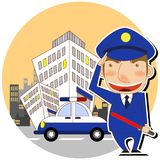 policja Obraz Royalty Free