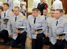 Policja jest częścią zjednoczony centralizujący system ministerstwo sprawy wewnętrzne federacja rosyjska obraz royalty free