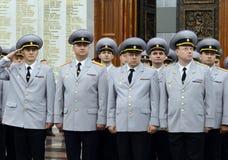 Policja jest częścią zjednoczony centralizujący system ministerstwo sprawy wewnętrzne federacja rosyjska zdjęcie stock