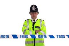 policja linii Obraz Royalty Free