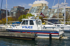 policja łodzi Obrazy Stock