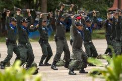 Policja rekrutuje szkolenie Obrazy Royalty Free