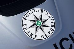 Policja republika czech, Czechia/ Fotografia Royalty Free