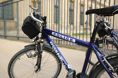 Policja rowery Fotografia Royalty Free