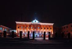 Policja w Kazachstan Obrazy Stock