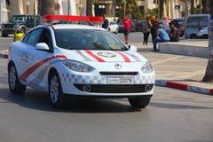 Policja w Tunezyjskim mieście Sousse Obrazy Stock