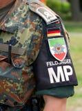 Policja wojskowa Zdjęcie Royalty Free
