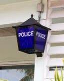 policja znak Zdjęcie Royalty Free
