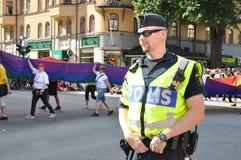Policjant obraz royalty free
