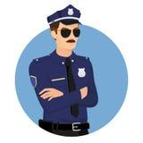 policjant royalty ilustracja