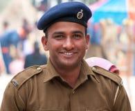 Policjant o w India Zdjęcia Royalty Free