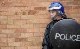 policjant riot Obrazy Royalty Free