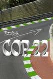 POLICJANTA 22 droga Zmieniać Zdjęcia Stock
