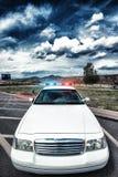 Policjanta samochód Fotografia Stock