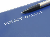 Policy Folder Royalty Free Stock Image