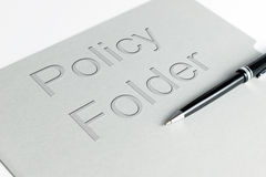 Policy holder Stock Image