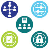 Policy Icons Stock Photos
