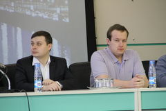 Policy Igor Drandin and George Alburov Stock Images