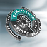 Policy, laws and compliance. Disc Stock Photos