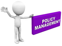Policy management Royalty Free Stock Image