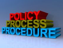 Free Policy Process Procedure Stock Photography - 161519572