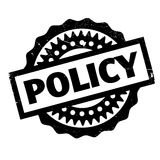 Policy rubber stamp Stock Photography