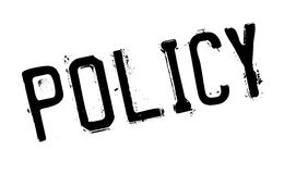 Policy rubber stamp Stock Image