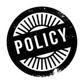 Policy stamp rubber grunge Stock Images