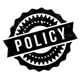 Policy stamp rubber grunge. Policy stamp. Grunge design with dust scratches. Effects can be easily removed for a clean, crisp look. Color is easily changed Stock Photography
