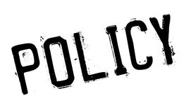 Policy stamp rubber grunge Royalty Free Stock Images