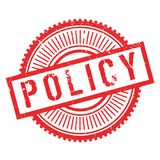 Policy stamp rubber grunge. Policy stamp. Grunge design with dust scratches. Effects can be easily removed for a clean, crisp look. Color is easily changed Royalty Free Stock Photos