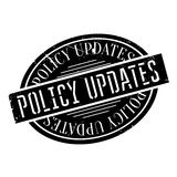 Policy Updates rubber stamp Stock Images