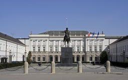Polieren Sie Präsidentenpalast Stockfoto