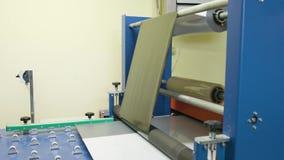 Polierglasprozeß stock video footage