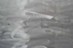 Poliermetallplatte Stockbild