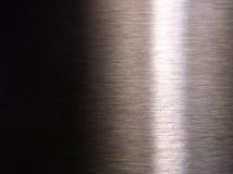 Polierter Stahl Stockfoto