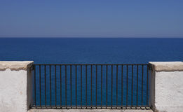 Polignano, балкон к морю, Апулии, Италии Стоковая Фотография RF