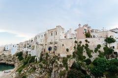 Polignano al mare, Puglia, Italy. Stock Image