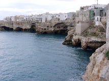 Polignano in Apulia in Italy Royalty Free Stock Photos