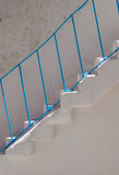 Polignano blå trappa, Puglia, Italien Royaltyfri Foto