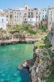 Polignano een Merrie, Bari Province, Apulia, zuidelijk Italië royalty-vrije stock fotografie