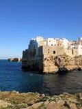 Polignano een Merrie, het zuiden van Italië Royalty-vrije Stock Foto's