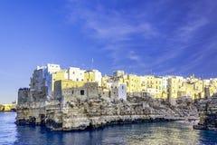 Polignano een merrie, Puglia, Italië stock afbeelding