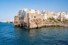 Polignano een merrie, Puglia, Itali? royalty-vrije stock afbeelding