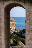Polignano Kobyli Puglia, Włochy zdjęcia royalty free