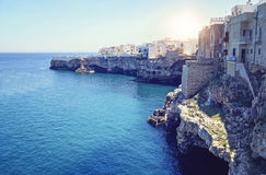 Polignano a Mare. Apulia, Italy royalty free stock photos