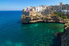 Polignano a Mare (BA, Italy): heaven on earth Stock Photos