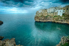 Polignano a Mare (BA, Italy): heaven on earth Royalty Free Stock Photos