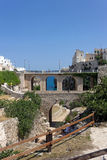 Polignano a Mare, the bridge Royalty Free Stock Photos