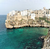 Polignano a mare cala porto Royalty Free Stock Photography